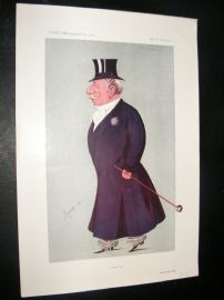 Vanity Fair Print 1913 Captain Quintin Dick